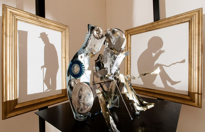 影子魔幻展-中的作品,表現手法創意十足。(奇美博物館提供)