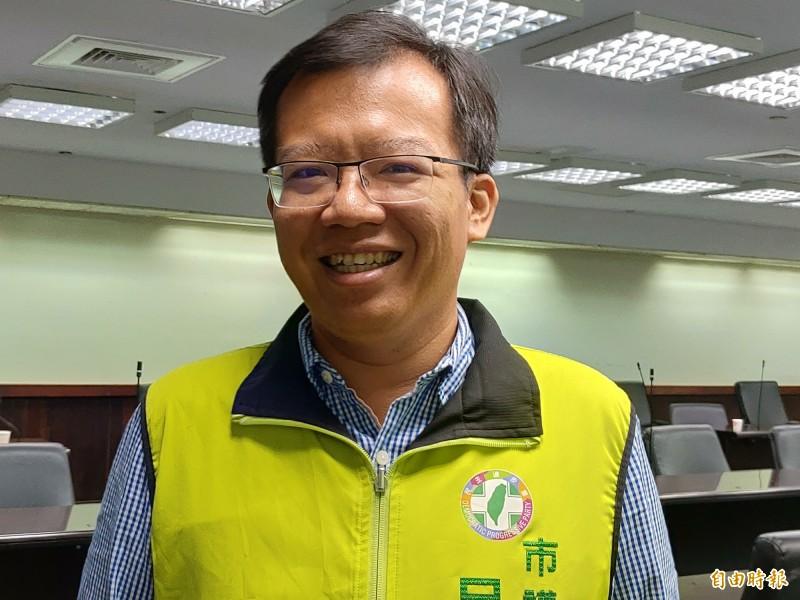 南市議員呂維胤表示,蔡賴見面是必然,也是全民的期待。(記者蔡文居攝)