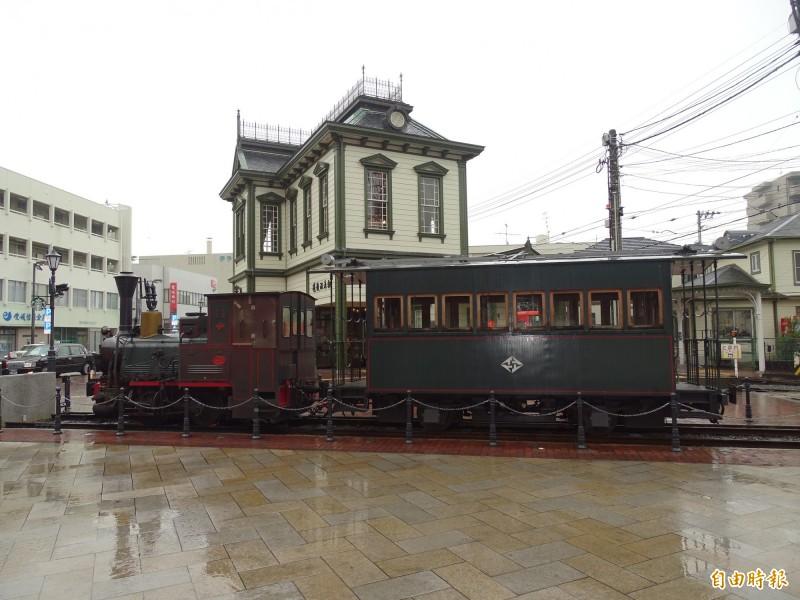 愛媛縣松山市名勝道後溫泉是台灣旅客最愛造訪的景點之一。(記者林翠儀攝)