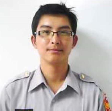 台北市警察局中山分局大直派出所警員賴智彥。(記者劉慶侯翻攝)