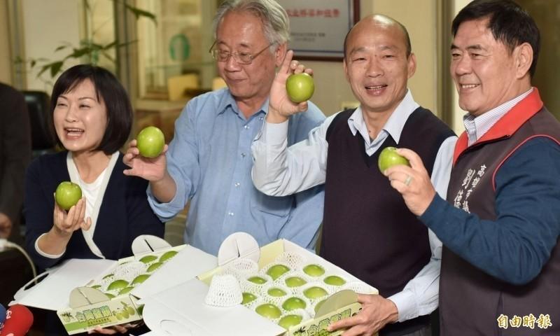 跟韓國瑜簽下訂單的公司,多是中國國有企業、或受中共「國有資產監督管理委員會」監管,即使在香港簽約的企業也是受控於中聯辦。(資料照)
