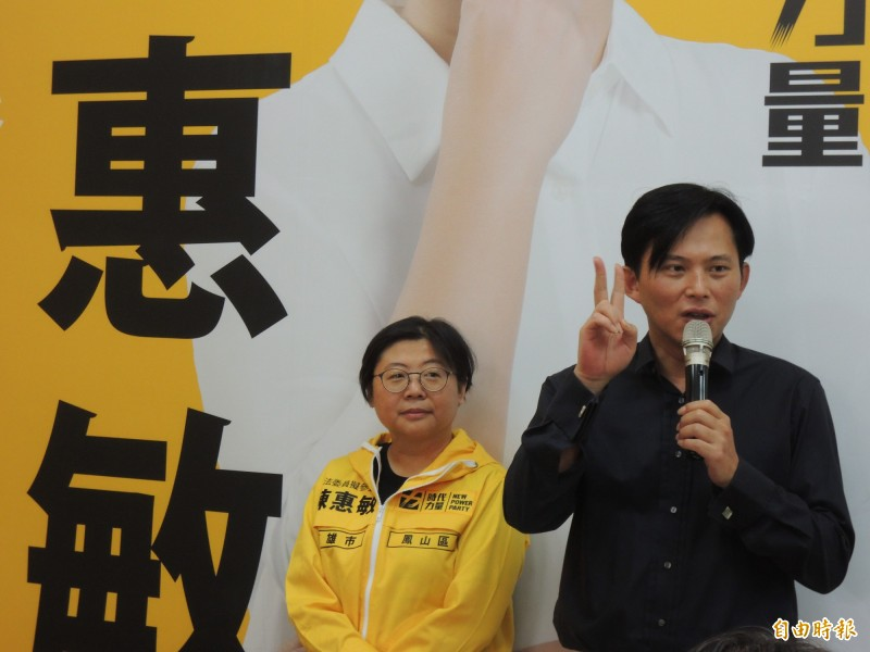 時力立委黃國昌認為,明年大選除了不能讓國民黨贏得總統,也不要再讓藍綠立委過半。(記者王榮祥攝)
