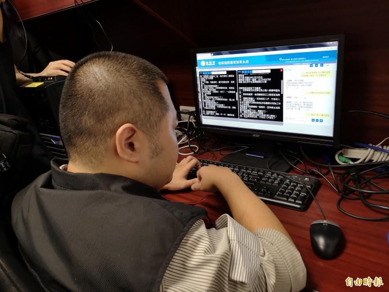 科技查賄指揮中心可同步各地檢署掌握的筆錄及事證。(記者黃捷攝)
