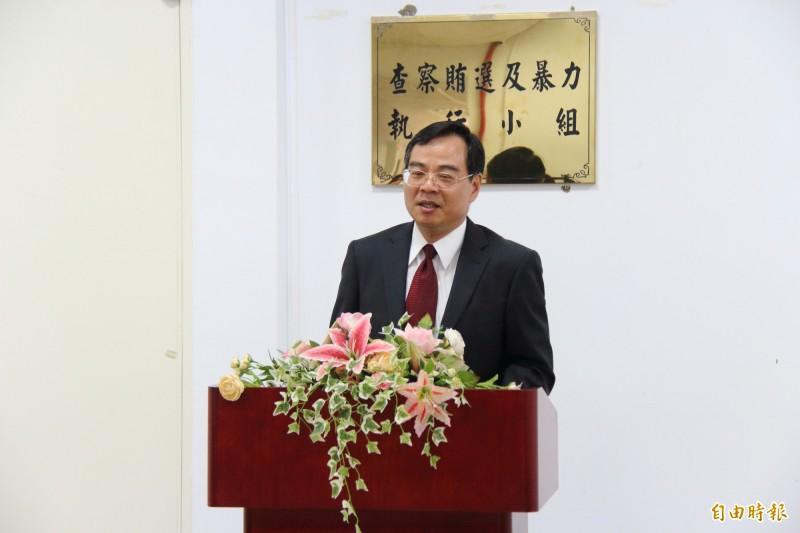 雲林地檢署檢察長郭永發。(記者廖淑玲攝)