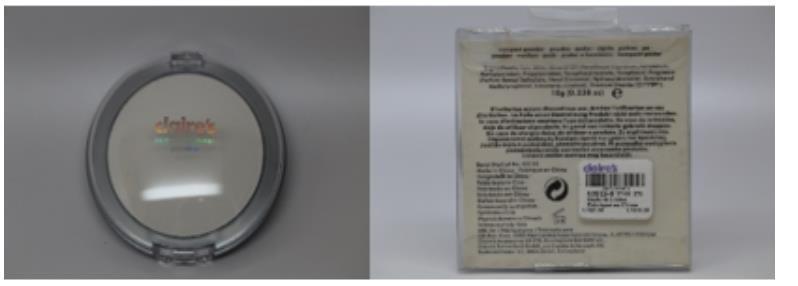 Claire's Compact Powder。(食藥署提供)