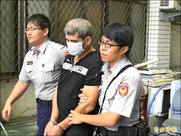 竊賊邱文忠(圖中)行竊失風撞死車主,須賠償851萬餘元。(資料照)