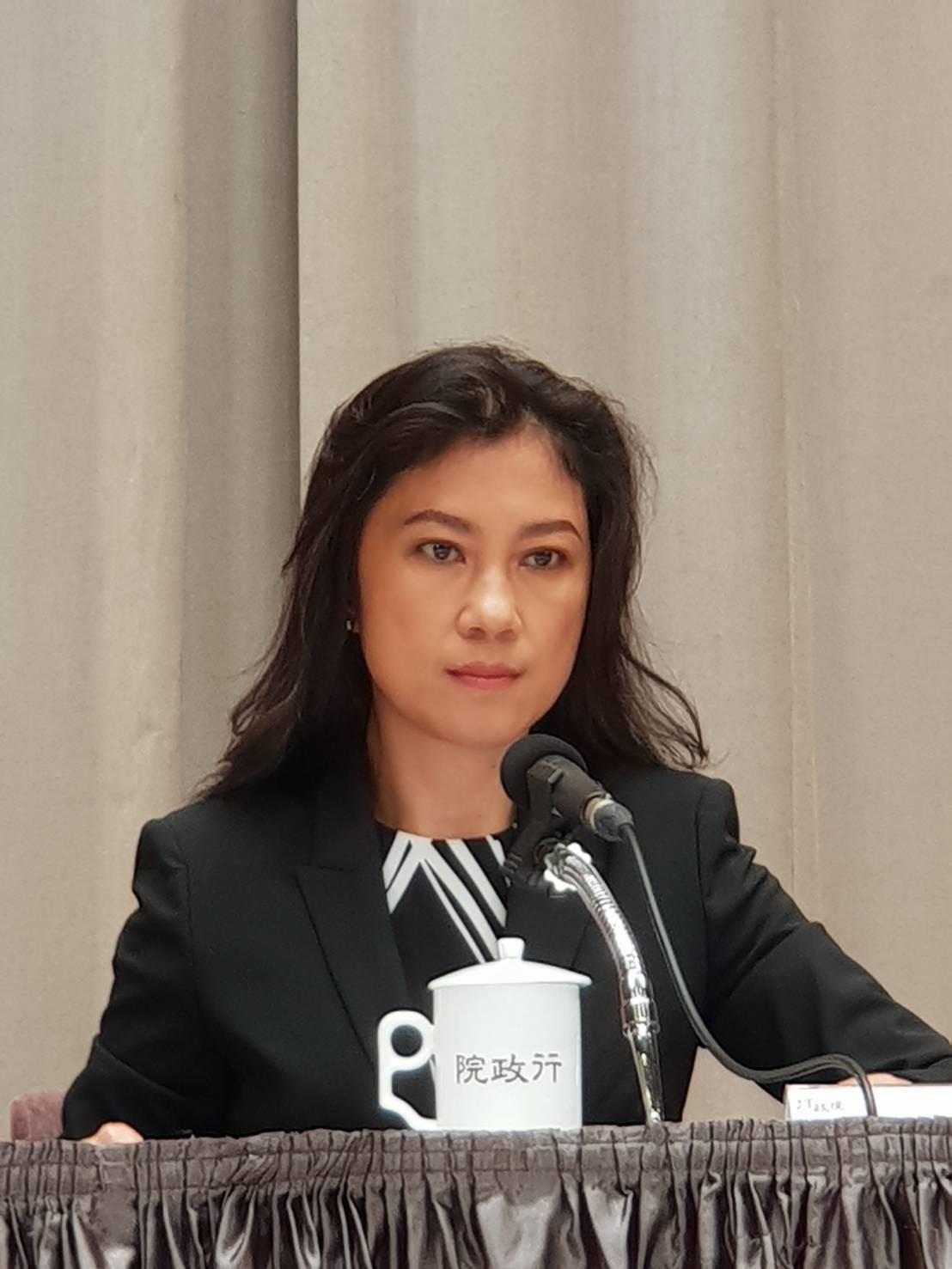 台北市長柯文哲指蘇揆「他再講,我就問候他那個保安宮的事,行政院發言人谷辣斯・尤達卡(Kolas Yotaka)(如圖)表示,不回應柯文哲。(資料照,記者李欣芳攝)