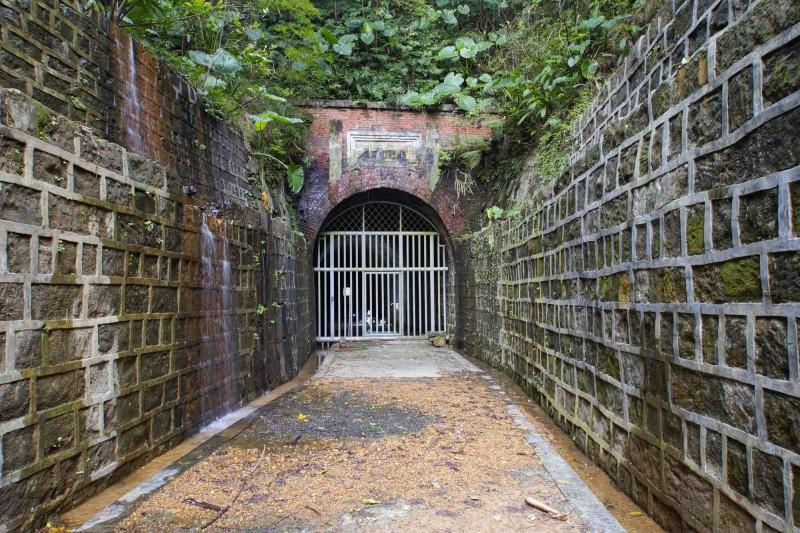 基隆市定古蹟劉銘傳隧道修復工程,歷經10年努力,終於在今年7月10日發包,預計600個日曆天完工。(記者俞肇福翻攝)