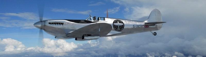 英國噴火式戰機將在九月抵台。(翻攝自silverspitfire網站)