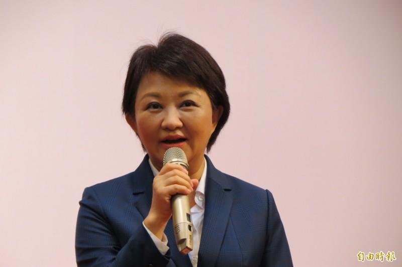 市長盧秀燕表示,一一走訪議員是請益、傾聽民意,建立府會和諧。(記者蘇金鳳攝)