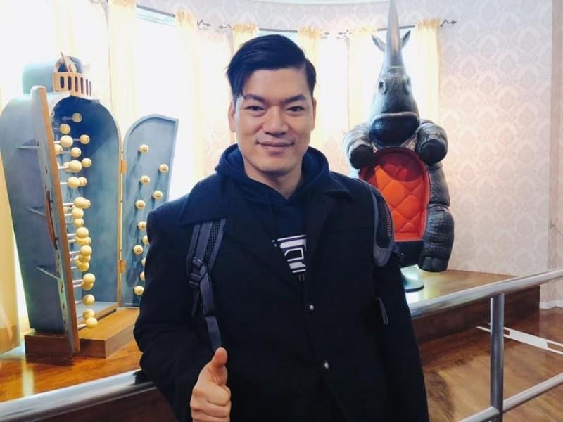 台中市警局臉書小編蕭旭成(見圖)喊冤說,把他描述成「台中紀淑如」等謠傳過度誇大。(記者張瑞楨翻攝自蕭旭成臉書)