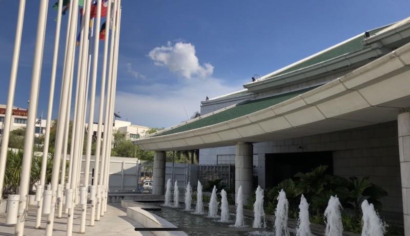 泰國曼谷的聯合國亞太總部。(記者劉宜庭攝)