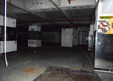 法務部行政執行署桃園分署將拍賣原「來來百貨」地下一樓的生鮮賣場空間。(法務部提供)