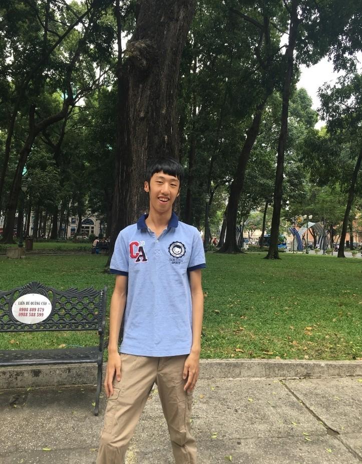 永平高中高緯錄取台灣大學數學系。(新北市政府教育局提供)