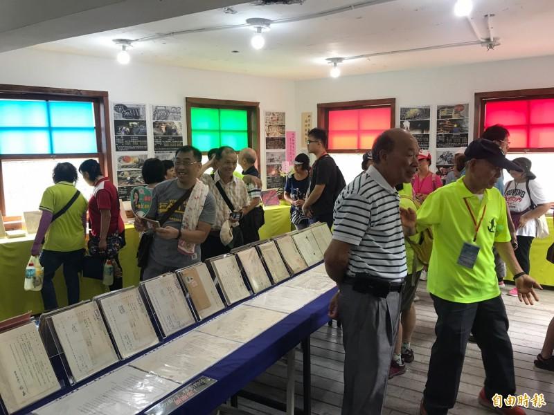「煤鄉礦工文史館」展示齊全的礦業文物及文史資料。(記者林欣漢攝)