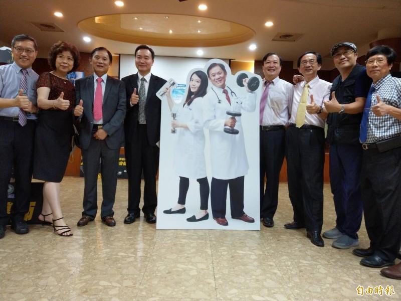 高雄市醫師公會為照顧4000名醫師會員及眷屬,規劃高階健檢及健身減重專案。(記者方志賢攝)