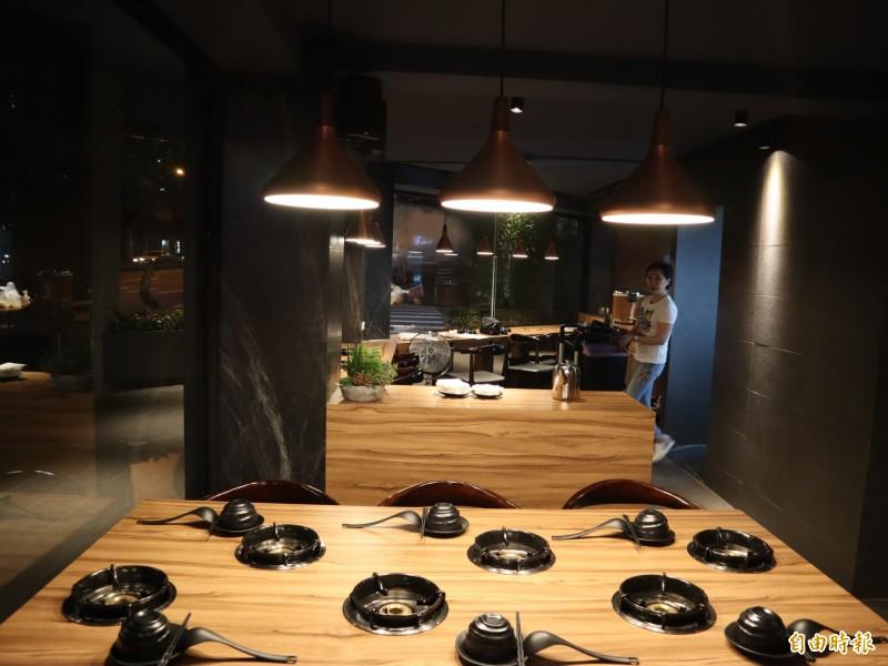 出雲鍋物環境清幽,是聚餐吃鍋的好去處。(記者歐素美攝)
