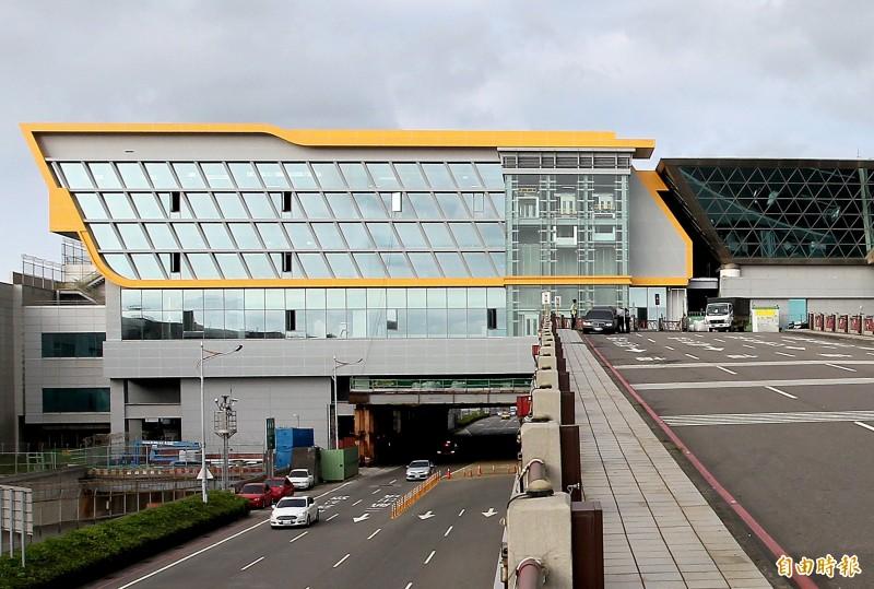 桃園機場第二航廈擴建工程傳出工程弊案。 (資料照片,記者朱沛雄攝)