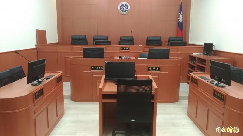 職務法庭15日免除俞力華的法官職務。(記者吳政峰攝)