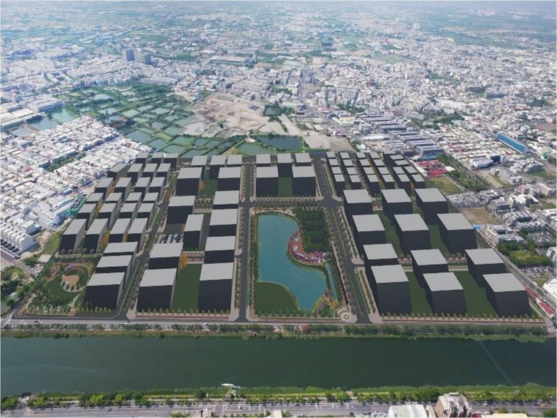 南市地政局規大型土地開發願景,吸引企業來台南投資。(南市地政局提供)