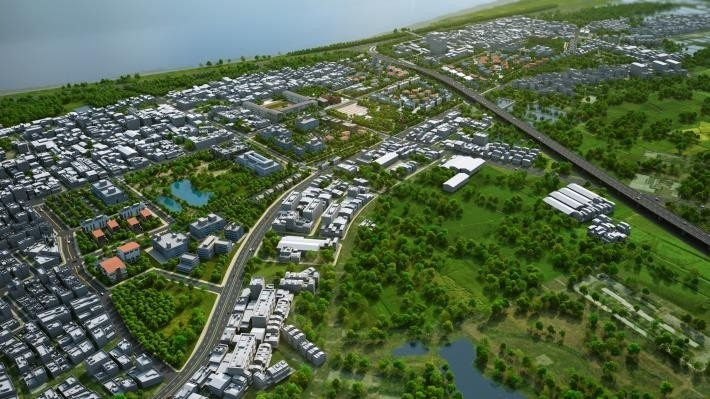 南市地政局規大型土地開發案,期望吸引企業來台南投資。(南市地政局提供)