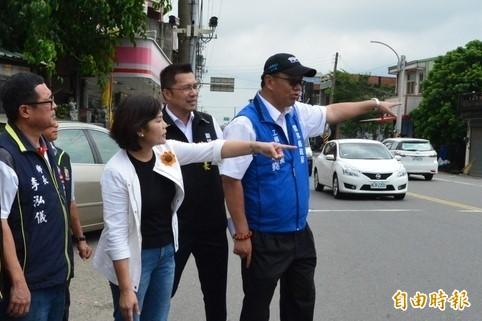 156縣道將全面改善交通環境。(記者林國賢攝)