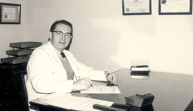 薄柔纜醫師昨傳出在美國逝世的消息,各界哀悼,也讓人無限懷念、感謝。(門諾醫院提供)