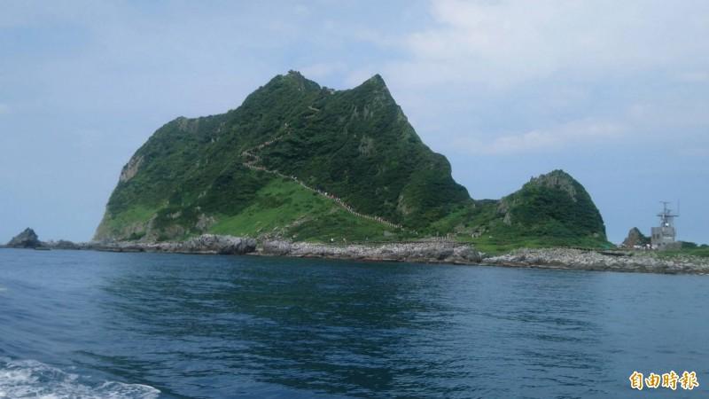 基隆嶼24、25日封島兩天,不對外開放。(記者林欣漢攝)