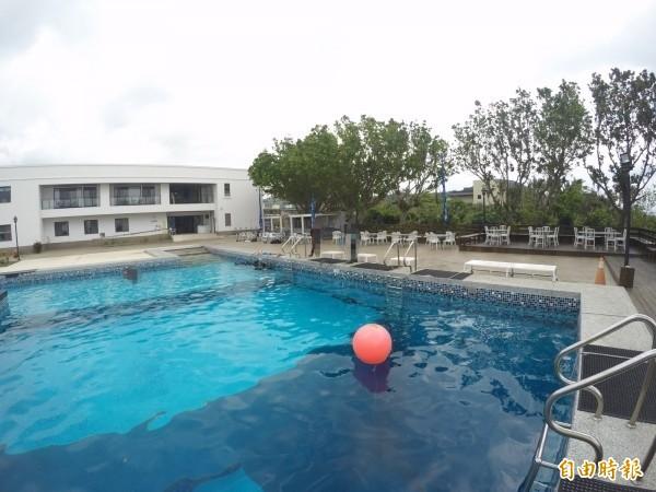 發生男潛水教練乘機猥褻女學員的練習池。(資料照。記者蔡宗憲翻攝)