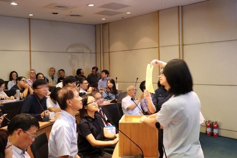 陽明大學校務會議今針對與交通大學合校案進行表決。(圖由陽明大學提供)