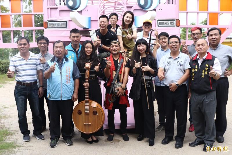 宜蘭市公所主辦的丟丟銅蘭城國際音樂節將在10月16日登場,活動將持續到10月20日止。(記者林敬倫攝)