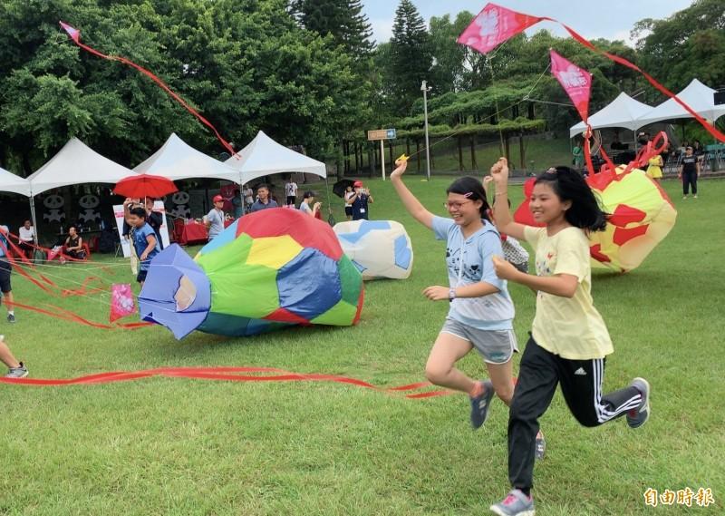 新北市北海岸國際風箏節將順延至22日舉行。(記者周湘芸攝)