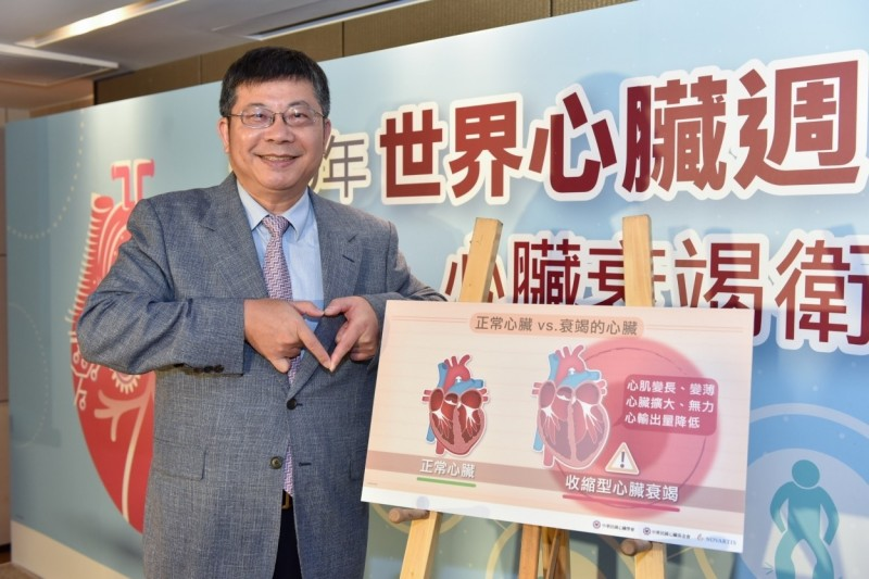 心臟基金會執行長,也是台大雲林分院院長黃瑞仁呼籲民眾,護心要趁早。(心臟基金會提供)