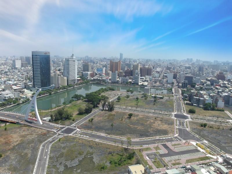 運河星鑽開發區將帶來中正商圈及中西區發展新面貌。(南市地政局提供)
