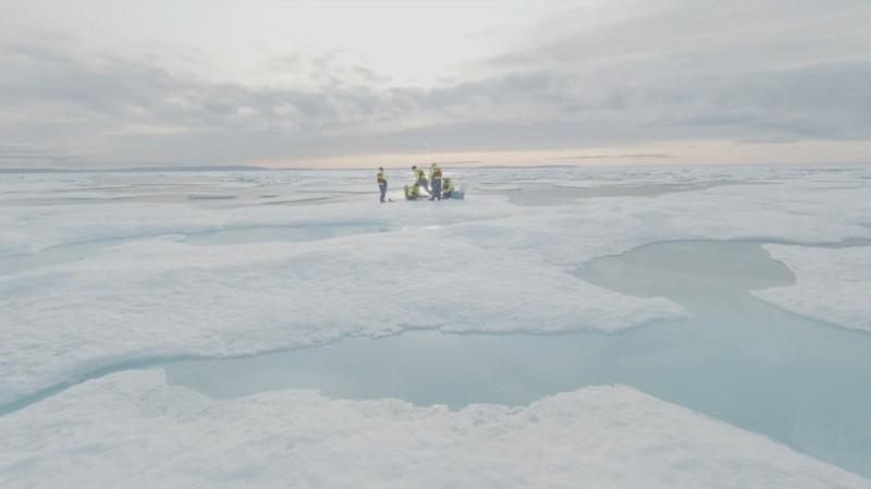 美國帶領的西北航道計畫今年7、8月間在加拿大北極地區進行18天的研究。(路透)