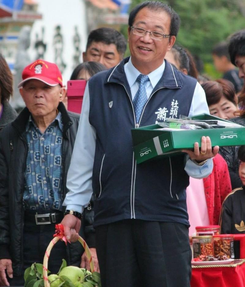 國民黨籍彰化縣議員蕭如意從政經歷豐富,曾當過社頭鄉長,及連任縣議員。(翻攝蕭如意臉書)
