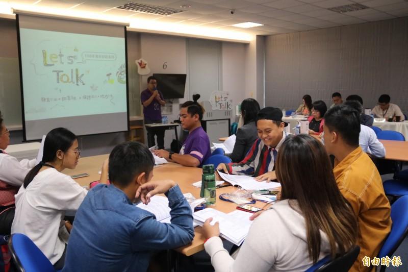 弘光科大舉辦Let's Talk「部落創生」原民部落發展的現況與困境論壇。(記者歐素美攝)