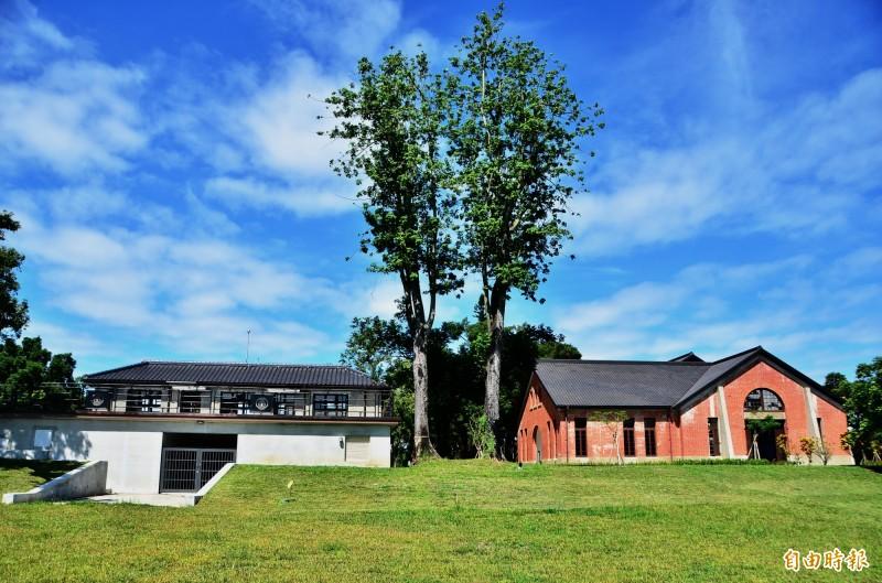 山上花園水道博物館完成古蹟修復,雙十節對外開放。(記者吳俊鋒攝)