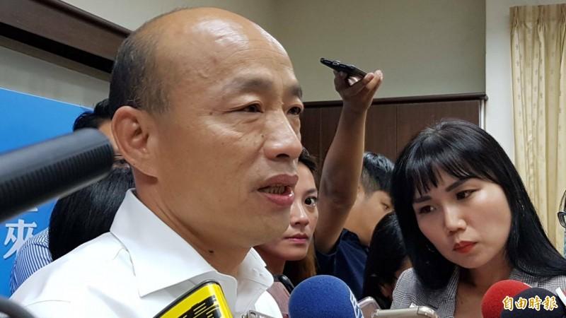 高雄市今晚擴大臨檢,市長韓國瑜將帶隊擴大臨檢店家。(記者陳文嬋攝)