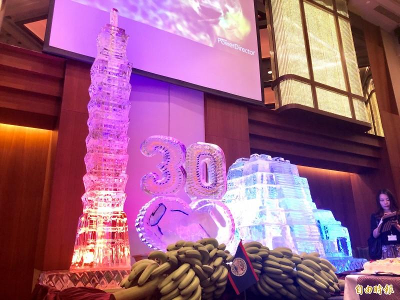 我國與貝里斯今晚舉行「建交30週年慶祝酒會」。(記者呂伊萱攝)