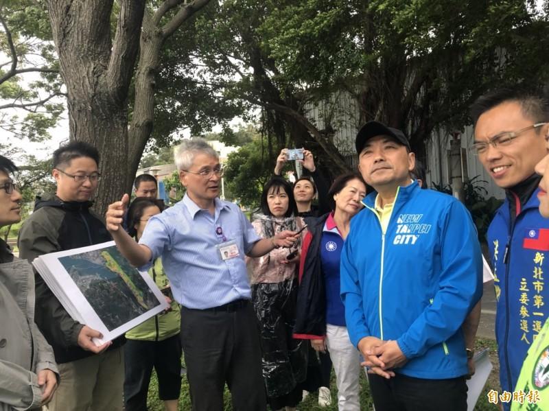 侯友宜表示,山坡地的開發需建構於環境安全及整體景觀和諧的前提。(記者周湘芸攝)