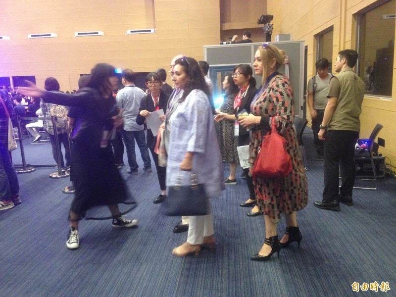 1400名代表參與第4屆世界婦女庇護安置大會。(記者黃旭磊攝)