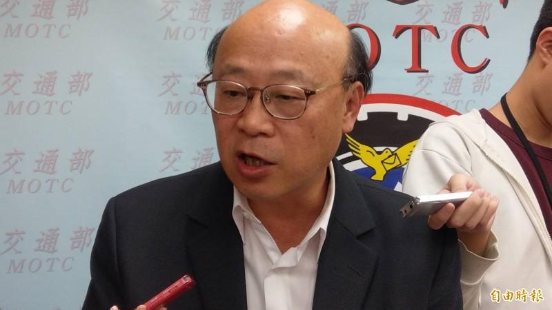 台灣港務公司行政副總經理王派峰表示,懲處名單不會只針對基層,也會就高層主管該負責任予以究責。(記者鄭瑋奇攝)