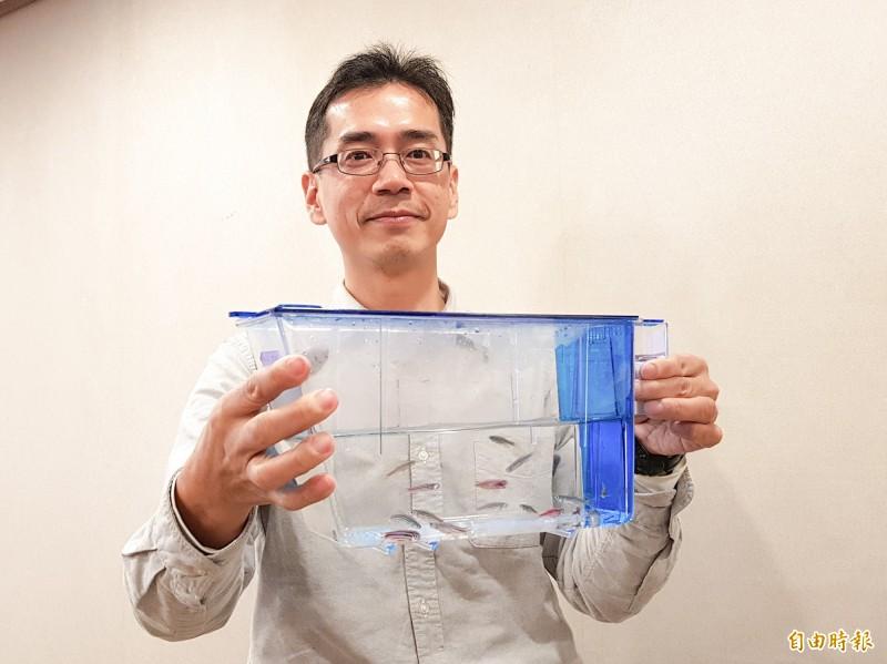 中研院細生所助研究員陳振輝團隊,顛覆200多年以來生物學界的既定假說,成功證實「再生記憶」可以被改寫。(記者簡惠茹攝)