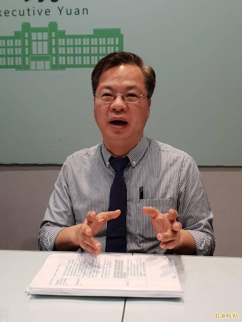 行政院政務委員龔明鑫表示,沙崙科學城將吸引新創業者進駐,形成「北林口,南沙崙」兩大新創聚落。(資料照)