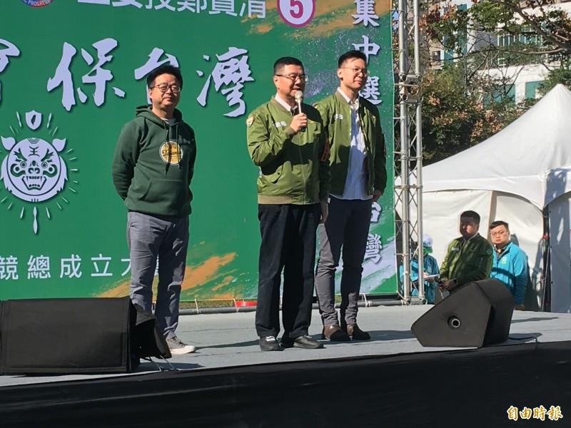 民進黨主席卓榮泰請韓國瑜不用著墨民進黨派系問題,更該關心國民黨如何整合團結。(記者謝武雄攝)