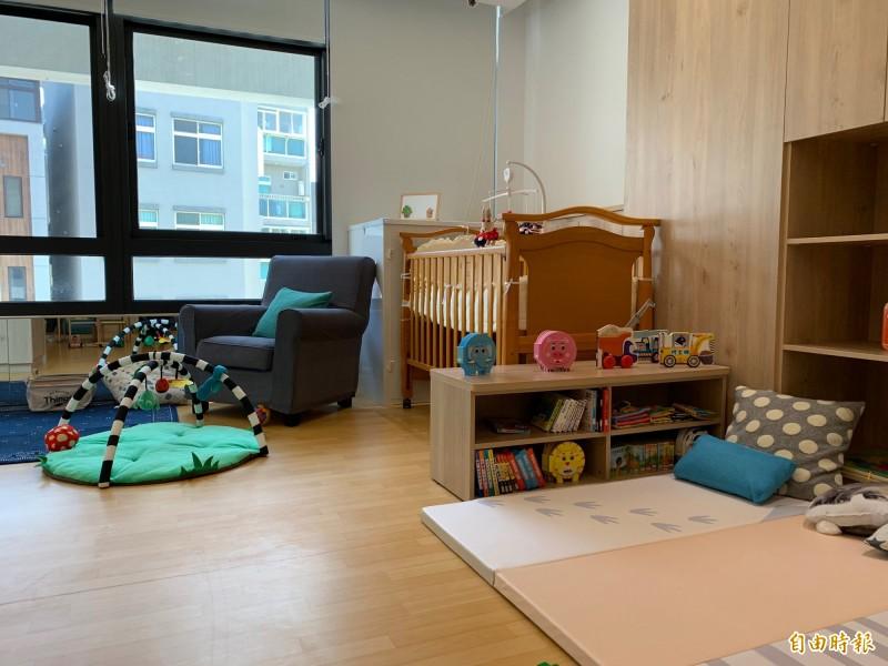 竹市第一家公共托育家園在南勢社會福利館,將舉辦招生說明會。(記者蔡彰盛攝)
