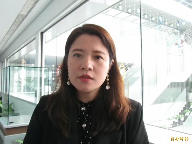 台中市觀旅局長林筱淇。(記者蘇孟娟攝)