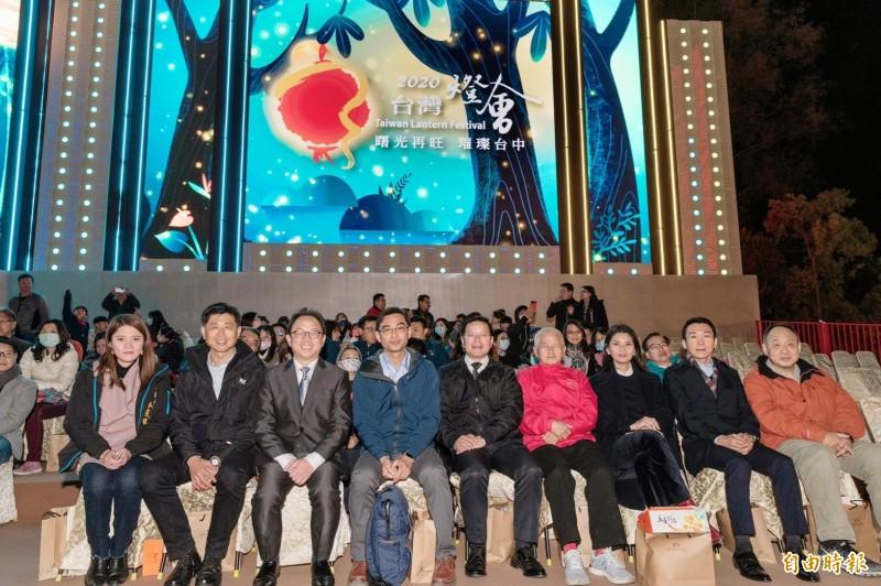 多名縣市觀旅局處首長參觀台灣會。(記者張軒哲攝)