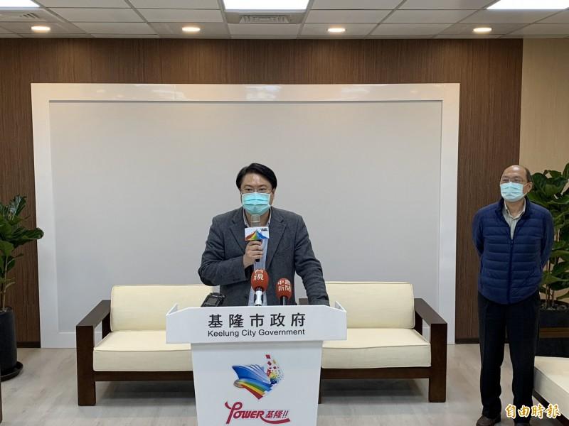 武漢肺炎疫情延燒,基隆市7日增加3名確診人數,累計已有6人確診。(記者林欣漢攝)